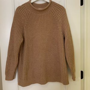 Lands' End Camel Sweater Turtleneck Size 1x 14 16